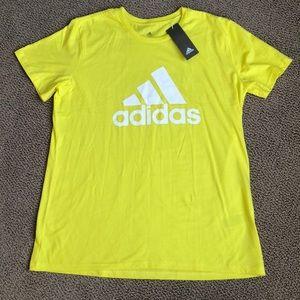 ADIDAS short sleeve tee shirt NWT